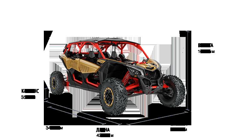 Maverick X3 MAX X RS Turbo R (2017 м.г.)